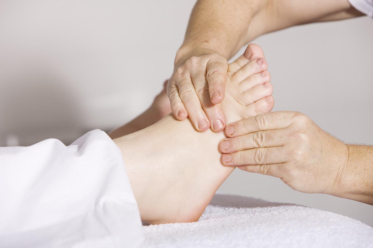 lesiones del pie