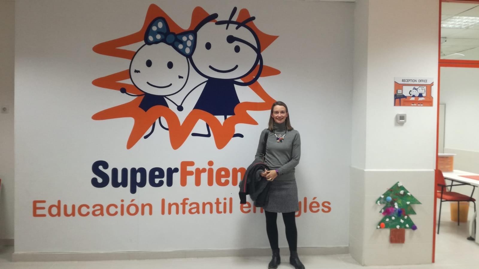 Charla de nutrición en Super Friends
